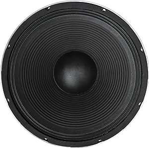 """Soundlab - Haut-Parleur Basse Soundlab 15"""" Noir Haute Qualité 400W 4 Ohm - Dimensions: 14"""""""