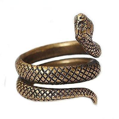 Bague Serpent en Laiton. Taille ajustable