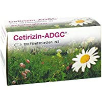 Preisvergleich für Cetirizin-ADGC 100 stk