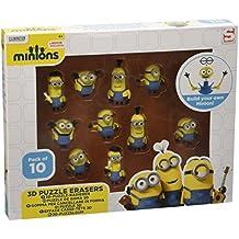 Minion rompecabezas 3D Borrador 10 pack