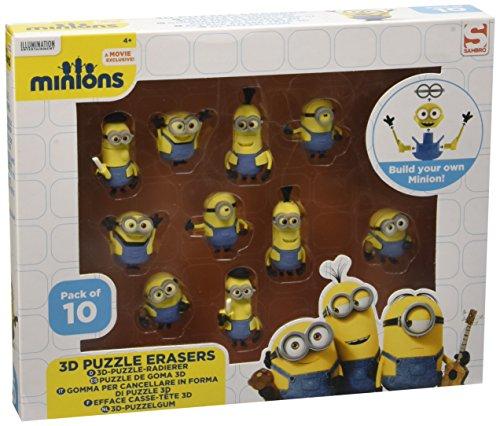 Minion Puzzle 3D Draft 10 Pack