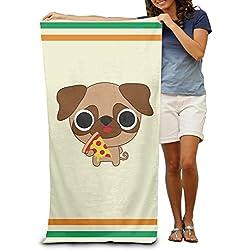 Pizza Pizza, diseño de CARLINO adultos toalla de Yoga (80x 130cm