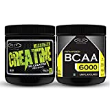 Sinew Nutrition Combo of Micronized Creatine 300gm And BCAA 6000 (200gm)
