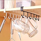 #9: Zollyss Kitchen Storage Rack Cupboard Hanging Hook Hanger Chest Storage Organizer Holder