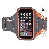 Fascia Sportiva da braccio-Haissky fascia di sport running with Key Holder, Locker Cable, carte & portamonete Sporty Bracelet per iPhone 8 7 6 6S Samsung Galaxy S7 S6 S6 Edge S5 S4 ecc