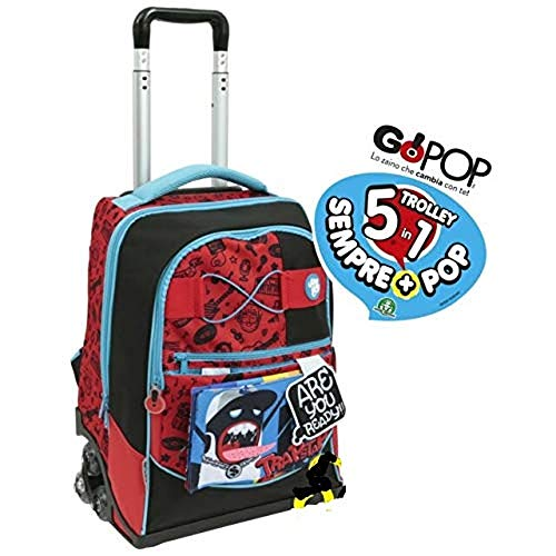 Zaino trolley scuola go pop trapstar giochi preziosi (nuova collezione 2019/2020