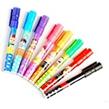 Know Set Of 8 Assorted Colors Easy-To-Wipe Dry-Erase Drawing Coloring Whiteboard Marker Pens