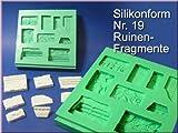 Silikonform, Fragmente, Nr. 19