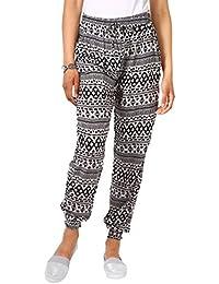 KRISP® - Femme Pantalon Sarouel Ample Uni