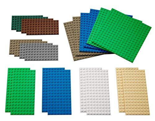 LEGO 9388 Education - Planchas pequeñas 22 Piezas