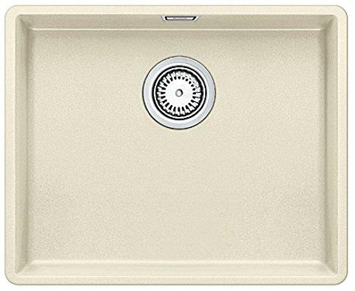 Preisvergleich Produktbild Blanco Subline 500-F Jasmin Silganit Beige Flächenbündig Küchenspüle Spültisch