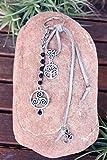 Llavero con Símbolos de protección del árbol de la vida, Trisquel y OM, Llavero...