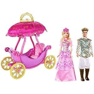 P7852 barbie carrosse montgolfiere corinne prince - Carrosse barbie ...