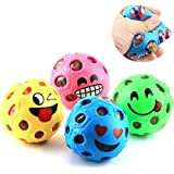 AK Stress Relief Smiley Character Slimy Color Changing Jelly Type Mesh Morph Balls Set Of 3