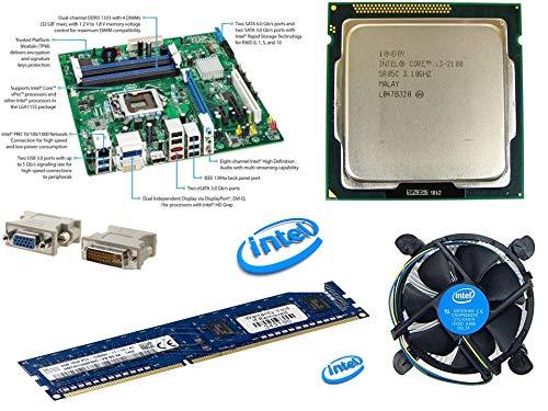 Intel Combo of Acer Motherboard, Intel i5 2400 Processor, Fan, Ram 4Gb DDR3 (OEM)