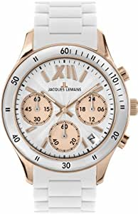 Jacques Lemans Sports Damen-Armbanduhr Rome Sports 1-1587R