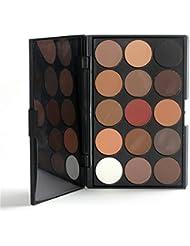 FantasyDay® 15 Colores Sombra De Ojos Paleta de Maquillaje Cosmética - Perfecto para Sso Profesional y Diario