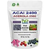 MoriVeda ACAI 2400 hochdosiert mit ACEROLA 2300 Fatburner Diät