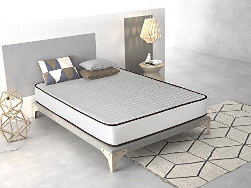 Imperial Confort- Colchón Basic - 80 x 180 x 15 cm - Color blanco