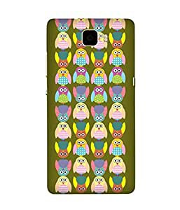 Stripes And Elephant Print-26 Huawei Honor 7 Case