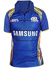 Aybeez Mumbai Indians Tshirt(MI) IPL JERSEY 2018 Tshirts For Mens Stylish Half Sleeves Ipl T Shirts For Men Csk...