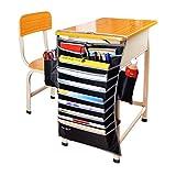 Hrph New Verstellbarer Tisch Book Organizer Tasche für Schreibtisch Breite Nützliche Bücher Aufbewahrungstasche Effiziente Schule Bookend-Rack