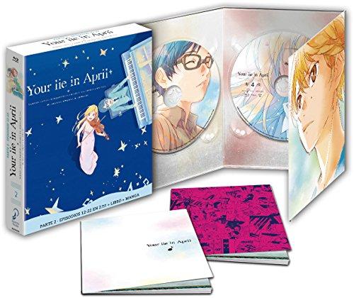Your Lie In April P2. Ep 12-22 Blu-Ray Edición Coleccionista [Blu-ray] 51w2ZbAGKLL