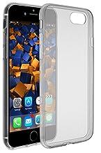 mumbi Coque compatible avec iPhone 7 / 8 Cas de téléphone portable, noir transparent
