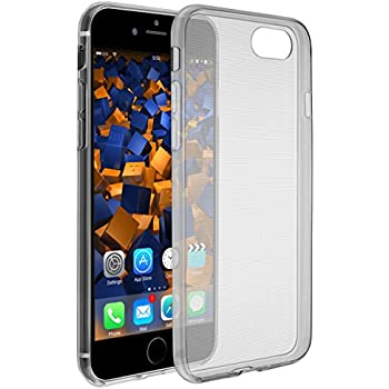 mumbi UltraSlim Hülle für iPhone 8 / iPhone 7 Schutzhülle schwarz transparent (Ultra Slim - 0.55 mm)
