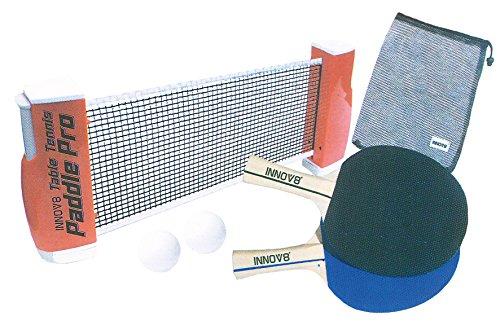 Tischtennis Set Netz ausziehbar für jeden Tisch mit Schläger