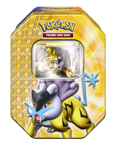 Pokemon PL Tin Deck Box #17 Raikou