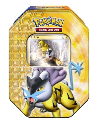 Imagen principal de Pokémon PL 17- Juego de cartas coleccionables de Pokémon en caja (en alemán), diseño de Raikou