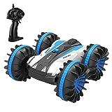 allcaca RC Auto Ferngesteuertes Auto Ferngesteuert 2.4GHz Fernsteuerung 4WD Offroad HighSpeed 15MPH 1:18 Spielzeug Fahrzeug 360° Spins für Kinder Erwachsene, Blau