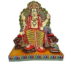 Paras Big Singhasan Ganesha Idol