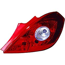 Corsa D 2006-2015 3 Door Rear Tail Light Lamp O/S Drivers Right