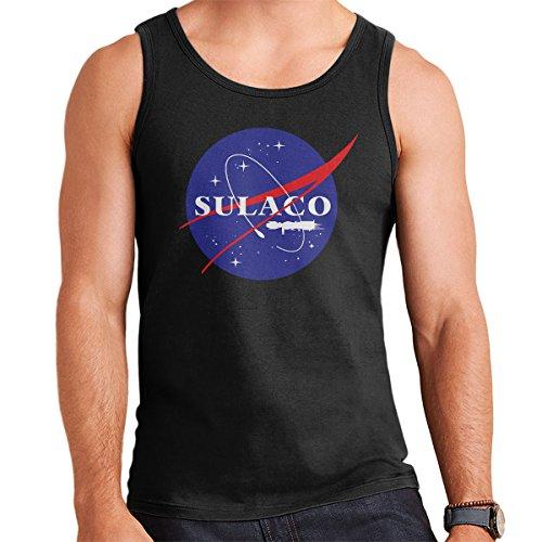 Sulaco NASA Logo Aliens Men's Vest Black