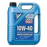 LIQUI MOLY 1301 Super Leichtlauf Motoröl 10 W-40 5 L