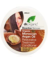 Dr. Organic Argan Hair Treatment Conditioner, 200 ml, 1er Pack (1 x 200 ml)