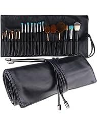 mlmsy Make-up Tasche für Make-up-Pinsel Professionellen Kosmetik Organizer Beauty Künstler Aufbewahrung Pinsel Tasche mit Gürtel Gurt Make-up-Handtasche Tasche Make-up Pinsel Halter