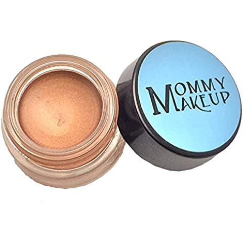 Any Wear Creme in Golden Caramel (a caramel brown with golden shimmer) [new formula] - The ultimate multi-tasking cosmetic - Smudge-proof Eye Shadow, Cheek Color, and Lip Color all-in-one by Mommy Makeup by Mommy Makeup