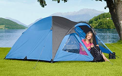 Berger Kuppelzelt Kiwi NZ 3 Personen Campingzelt 3000mm Wassersäule Festivalzelt Camping