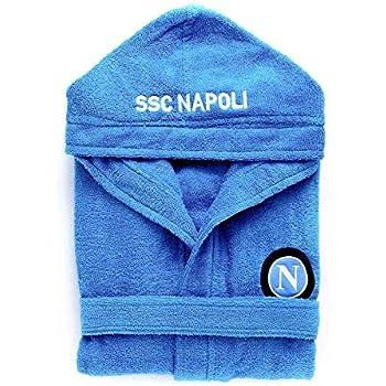 Accappatoio SSC Napoli Ufficiale per Adulti in spugna N588 L