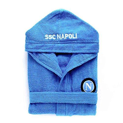 Accappatoio SSC Napoli Ufficiale per Adulti in spugna N588 XXL