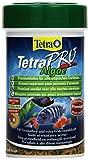 Tetra Pro Algae Premiumfutter (für alle tropischen Zierfische, mit Algenkonzentrat zur Verbesserung der Widerstandskraft, Vitaminstabilität und hoher Nährwert, Spirulina-Alge), 100 ml Dose