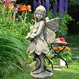 Mystische Gartenfigur und Steinfigur - Elfe