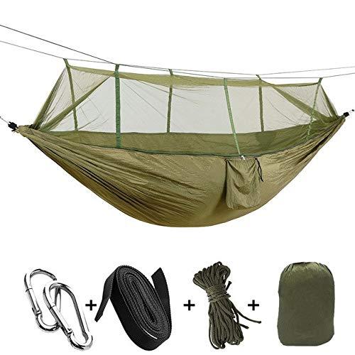 Shoppy étoile Camping Mosquito Nets Hamac Parachute léger en Nylon hamacs Camping Sacs de Couchage pour Voyage randonnée : Couleur