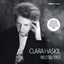 Clara Haskil - Recital 1953 [Clara Haskil] [Swr Classic: SWR19052CD]