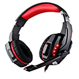 HelloPower G9000 stereo gaming headset ps4 pc for computer with microphone LED Light - Best Reviews Guide