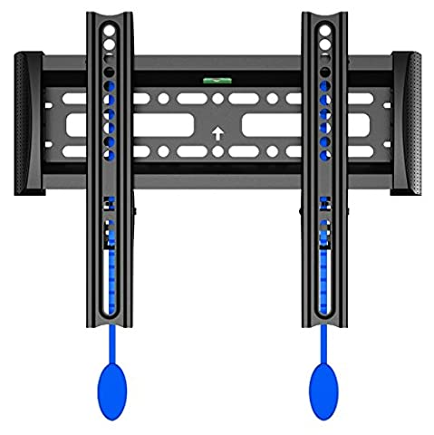 Invision® Ultra Slim TV Wall Bracket Mount for LED LCD & Plasma Screens VESA 200x200 Maximum *Please Check Your TV VESA Mounting Holes Before Purchase* Best fit for 17 to 40 Inch TVs (200-F)