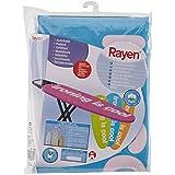 Rayen 6080 - Funda para tabla de planchar con muletón y clip, de algodón, 45 x 130 cm, modelos surtidos